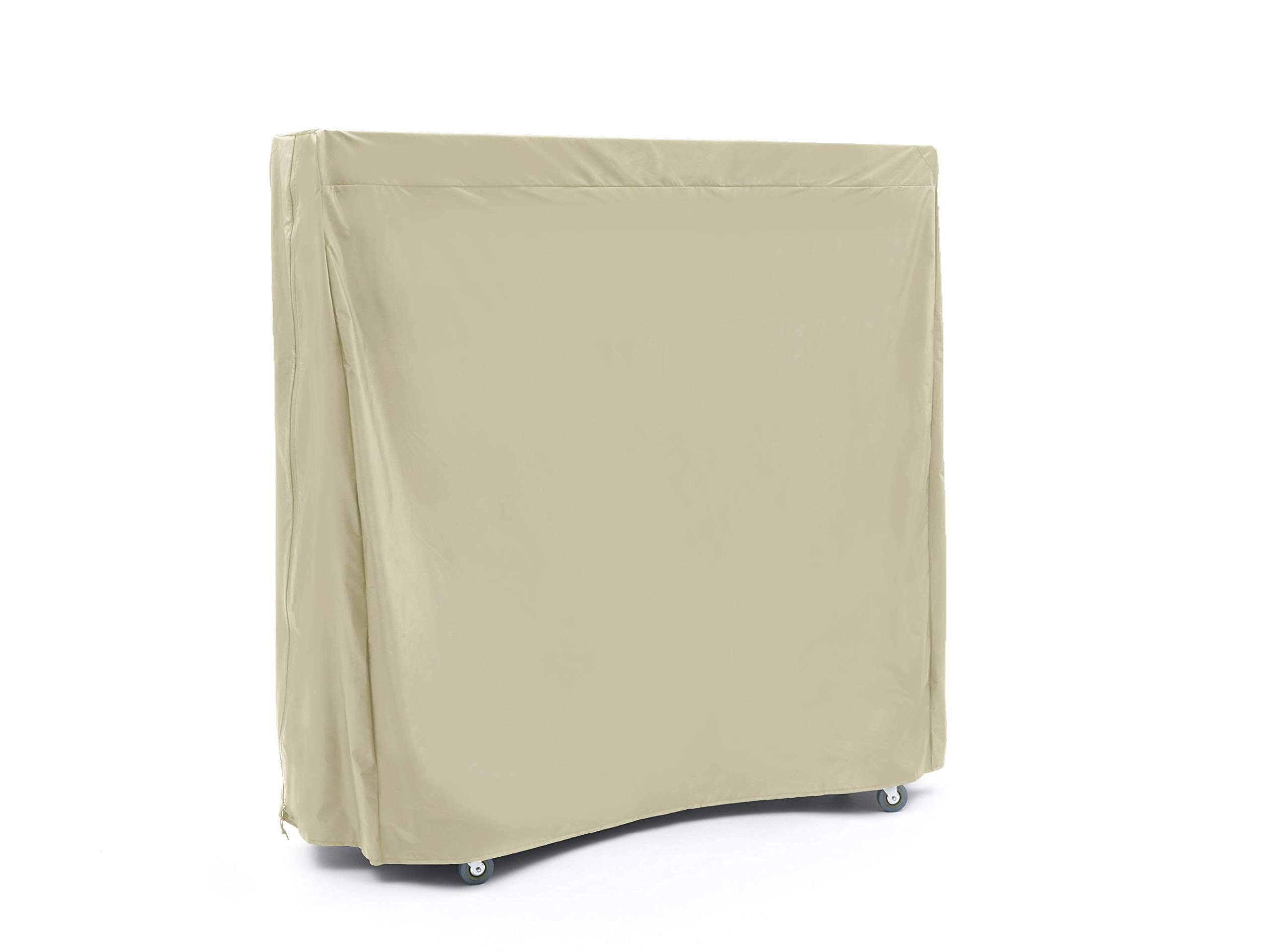 CoverMates – Upright Ping Pong Table Cover – 60W x 28D x 60H – Elite Collection – 2 YR Warranty – Year Around Protection- Khaki