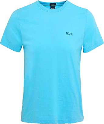 70e6522fe Hugo Boss Tee Mens Light Blue T-Shirt M: Amazon.co.uk: Clothing