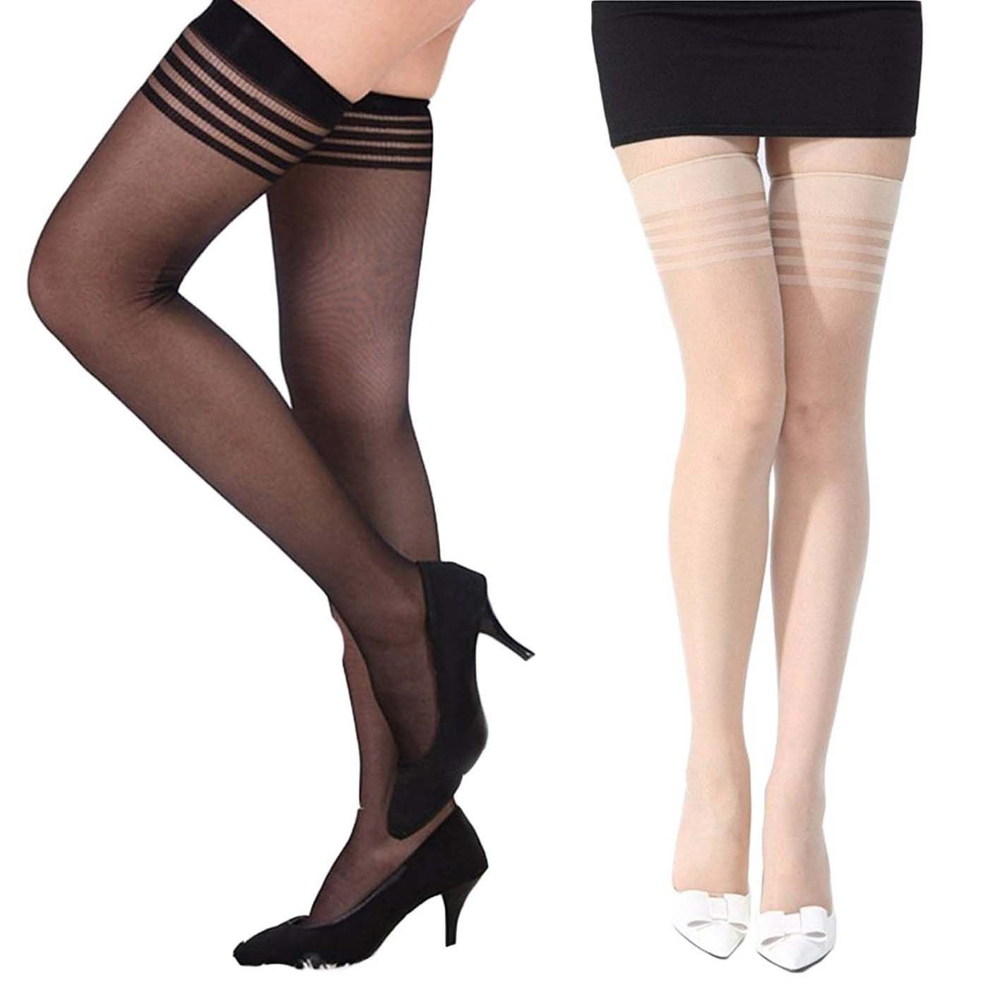 ac5af39e751 QUEERY Designer Stockings For Women  Amazon.in  Clothing   Accessories