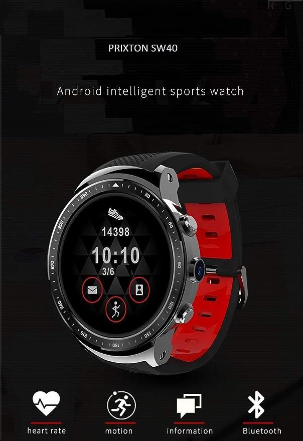 Smartwatch Android 5.1 3G GPS Pulsometro Prixton SW40: Prixton ...