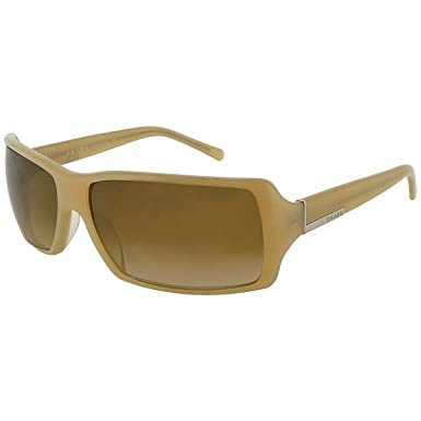 Prada Damen Beige Rechteckige Sonnenbrille Mit Bronze Getönt Gradient Linsen SPR24G 3BQ 6S1 zhk9rKb9r
