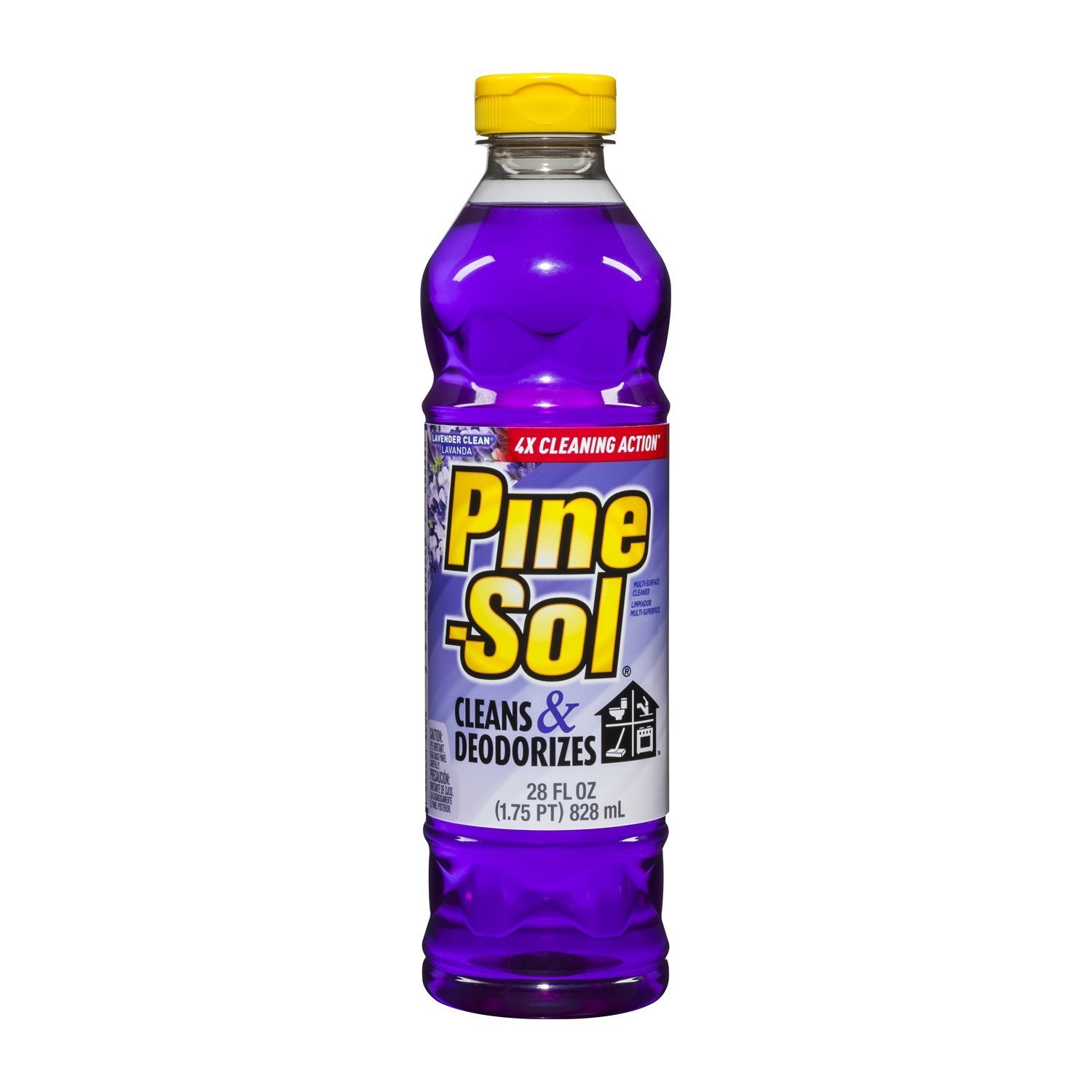 Pine-Sol Multi-Surface Cleaner, Lavender, 28 Fluid Ounce Bottle (Pack of 3)