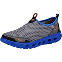 ASERTYL shoes Summer Casual Men's Quick Drying Aqua Water Shoe Breathable Non-Slip Diving Shoe