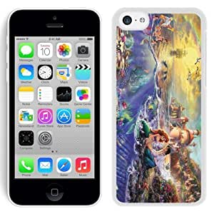 Lmf DIY phone caseREDBUCK? iphone 6 4.7 inch Case Cover of High Quality Easy Use Design with Thomas Kinkade Little Mermaid in WhiteLmf DIY phone case