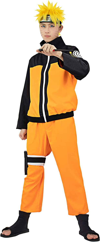 DAZCOS US Size Adult Anime Uzumaki Cosplay Costume Men/Women