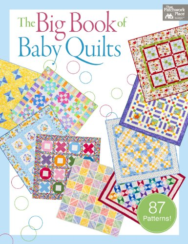 Applique Crib Quilt - The Big Book of Baby Quilts