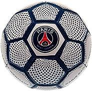 Paris Saint Germain Diamond Mini Leather Ball (Size 1) (White/Blue)