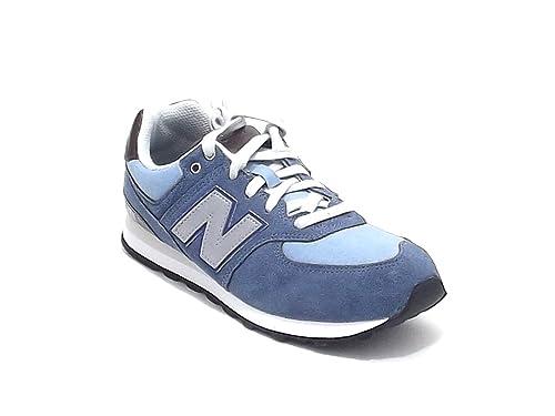 new balance 574 azul bebe