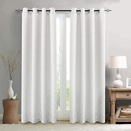 White Window Curtain