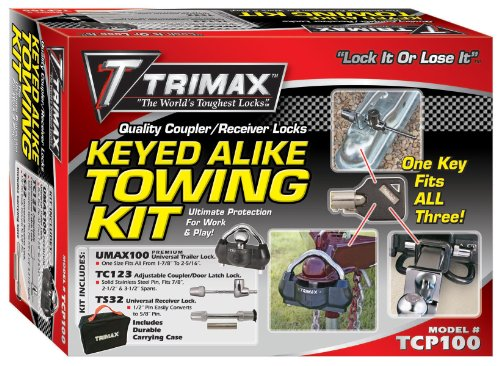 Trimax TCP100 Keyed Alike Combo Pack ()