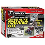 Trimax TCP100 All Keyed Alike Combo Pack Set Includes UMAX100, TC123, TS32 and Carrying Case