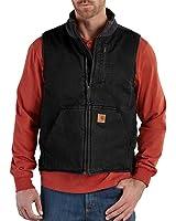 Carhartt Men's Sherpa Lined Sandstone Vest V33
