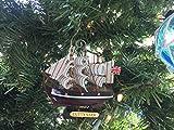 Hampton Nautical Wooden Cutty Sark Tall Model Clipper Ship Christmas Ornament, 4'