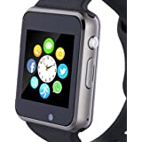 Smart Watch, Smartwatch Phone with SD Card Camera Pedometer Text Call Notification SIM Card Slot Music Player Compatible…