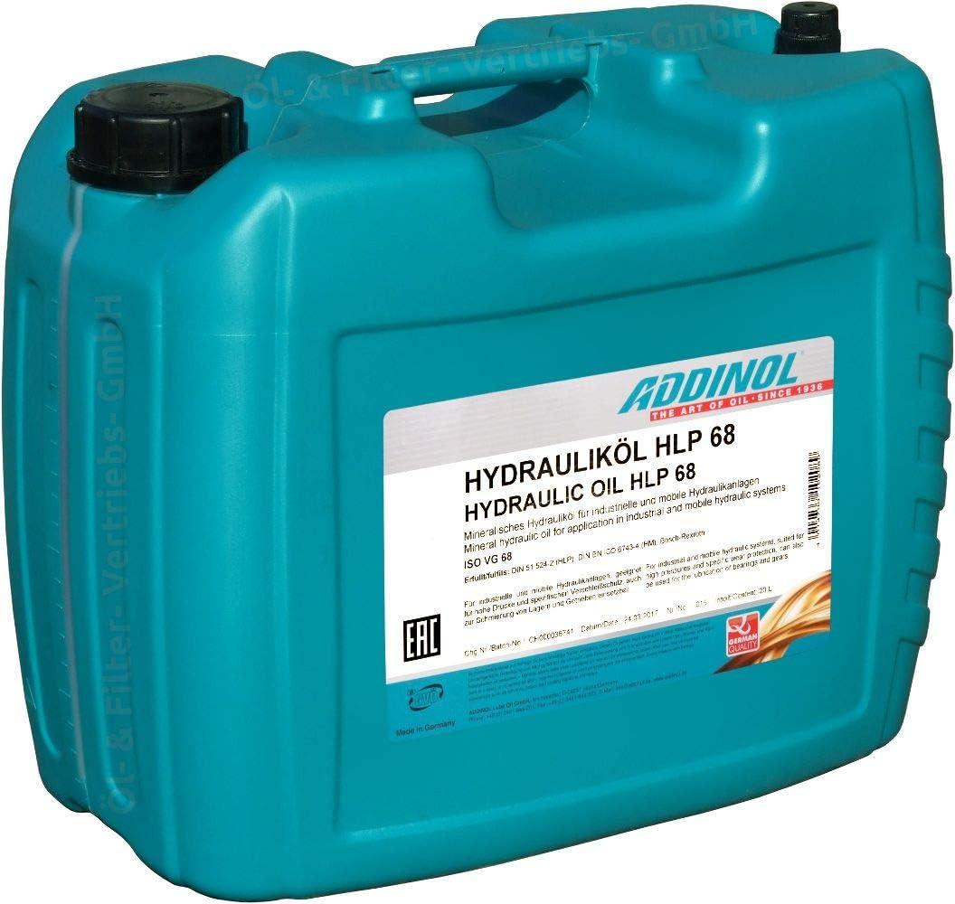Addinol Hydraulic Oil Hlp 68 20l Auto