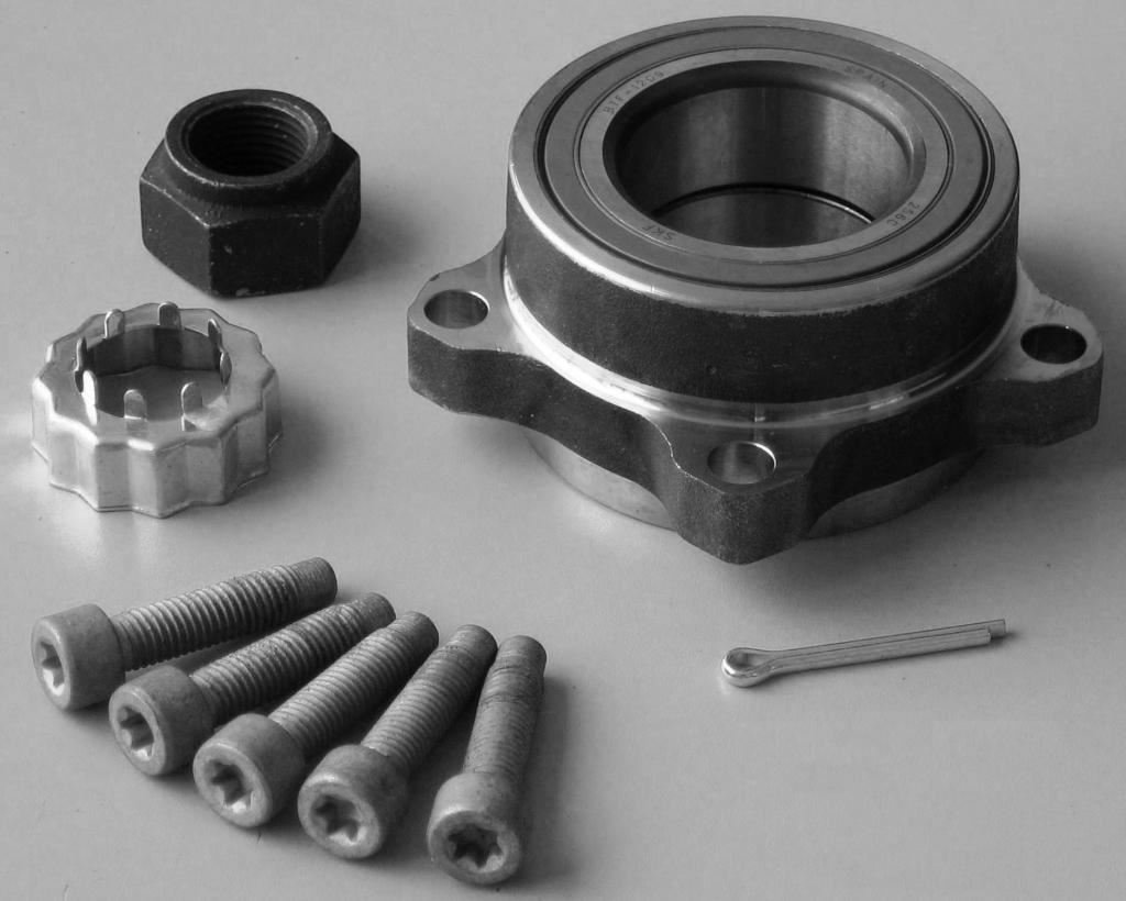 TRUPART LTD Transit Mk7 2006-2014 Front HD Wheel Hub Bearing + FREE Umate Styling Air Freshener with every Order Aftermarket