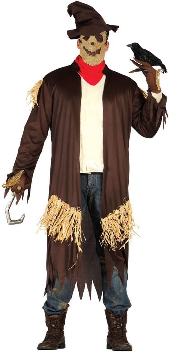 Disfraz de espantapájaros tenebroso adulto: Amazon.es: Juguetes y ...