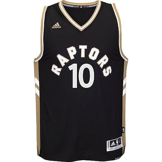 536ef5e7d7f ... switzerland adidas kyle lowry toranto raptors 7 nba youth black gold  swingman alternate jersey x 84ea7
