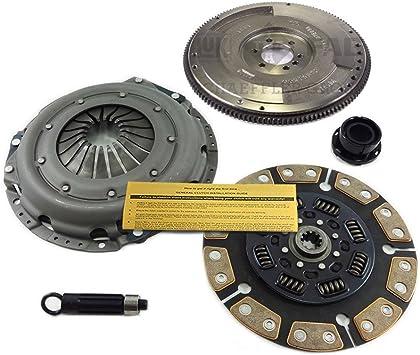 Amazon Com Eft Ceramic Clutch Kit Flywheel For Chevy Gmc 1500