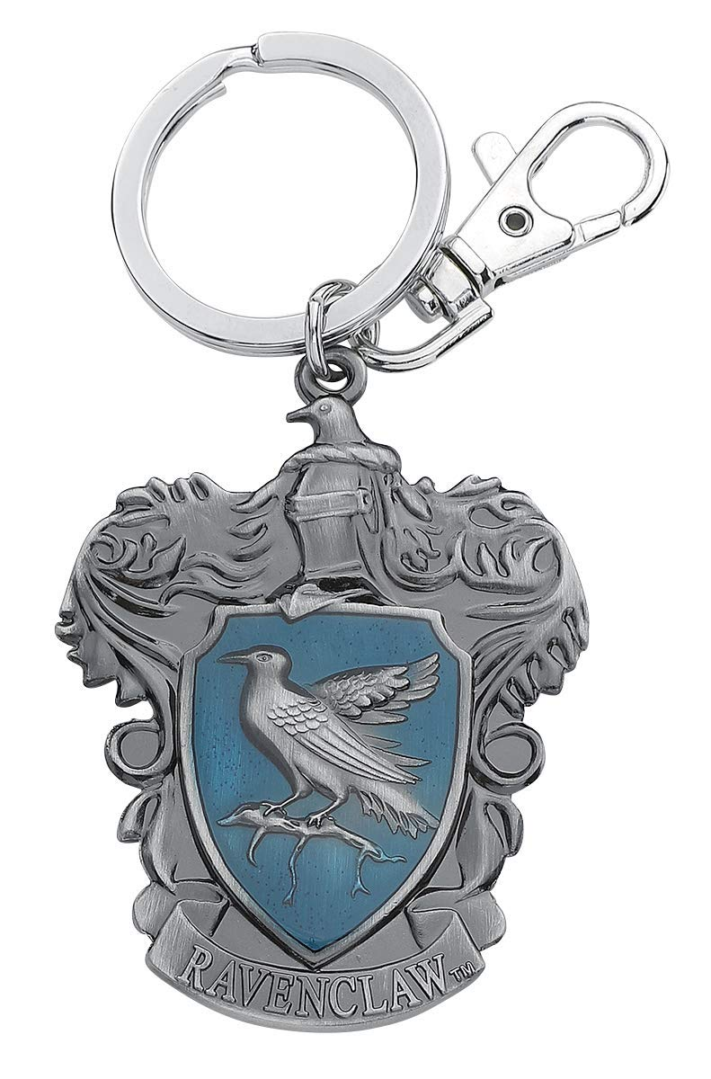 Harry Potter Ravenclaw Llavero Colgante Plateado: Amazon.es ...