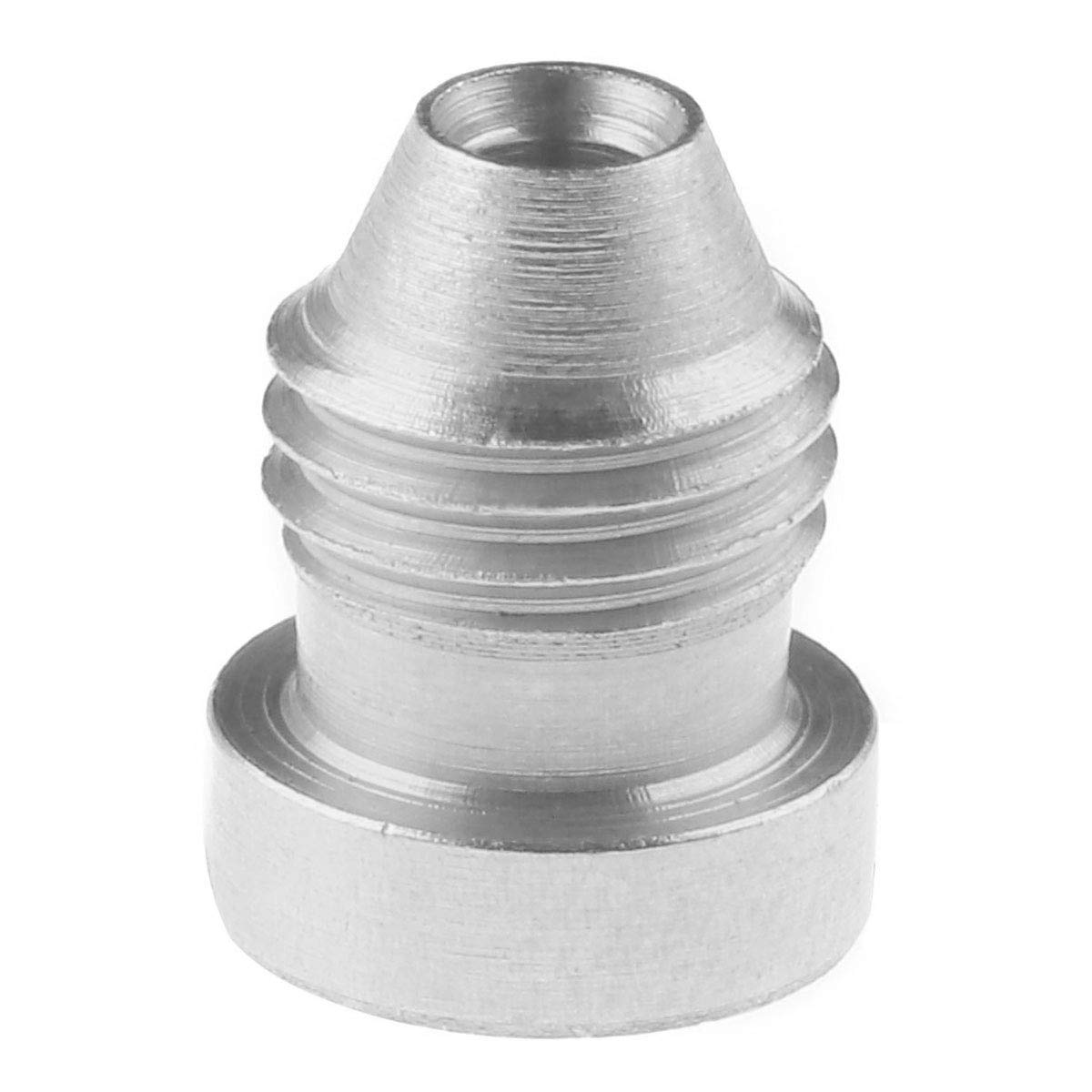 TiaoBug Foam Cannon Orifice Nozzle Tips Universal Replacement Brass Thread Nozzle for Snow Foam Lance Silver 0.05 inch by TiaoBug (Image #1)