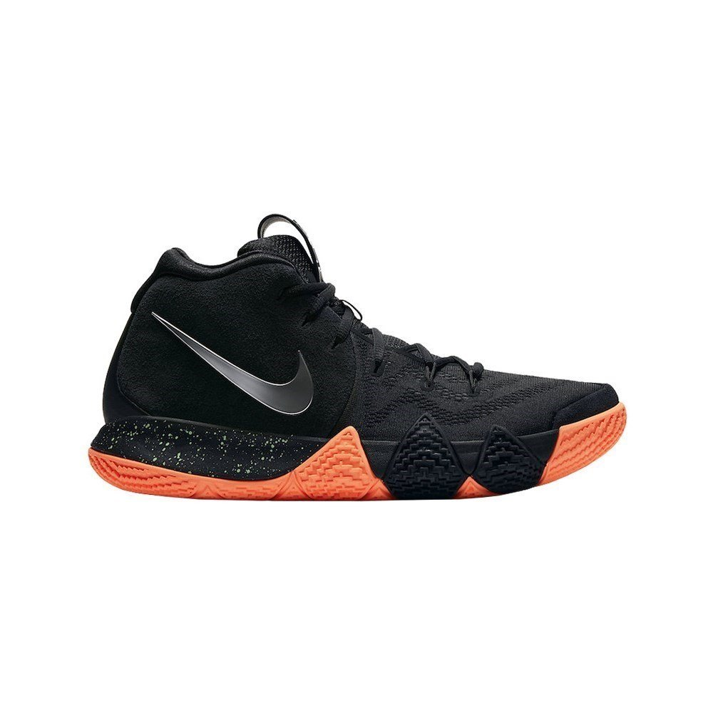 wholesale dealer 5b549 7fd5b Galleon - NIKE Men s Kyrie 4 Basketball Shoes (9, Black Silver)