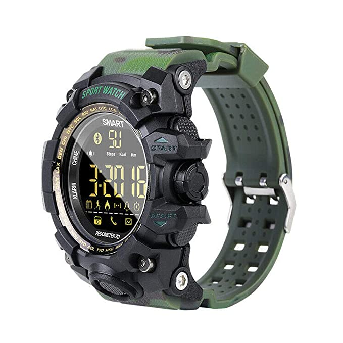 DT NO.I Bluetooth Smart Watch 50M Waterproof Sports Smartwatch for Men Android iOS iPhone Samsung Huawei with Pedometer Fitness Tracker GPS Sports ...