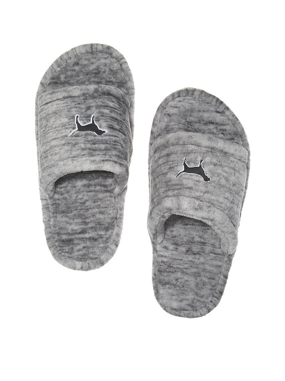 Amazon.com | Victoria\'s Secret Pink Cozy Soft Slippers Grey Marl ...