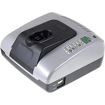 Powery Cargador de batería con USB para BTI Profiline ...