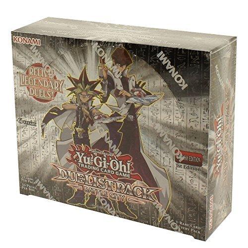 Duelist Pack Box - YuGiOh Duelist Pack Battle City Booster Box 1st Ed