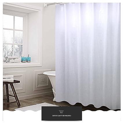 JITIFI Waterproof Mildew Resistant Anti Bacterial PEVA Translucent Shower Curtain Liner 72X72 Inch