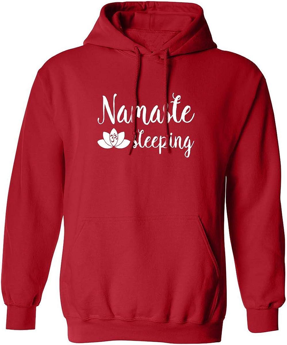 ZeroGravitee Namaste Sleeping Adult Hooded Sweatshirt