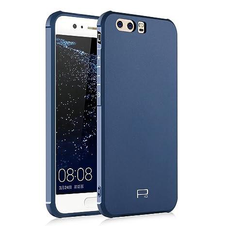 Hevaka Blade Huawei P10 Funda - Suave Silicona TPU Carcasa Smart Case Cover Para Huawei P10 - Azul