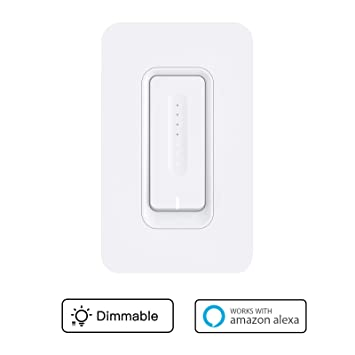 Smart Wifi Dimmer Switch - WiFi Light Wall Switch Compatible with Alexa and Google Assistant/