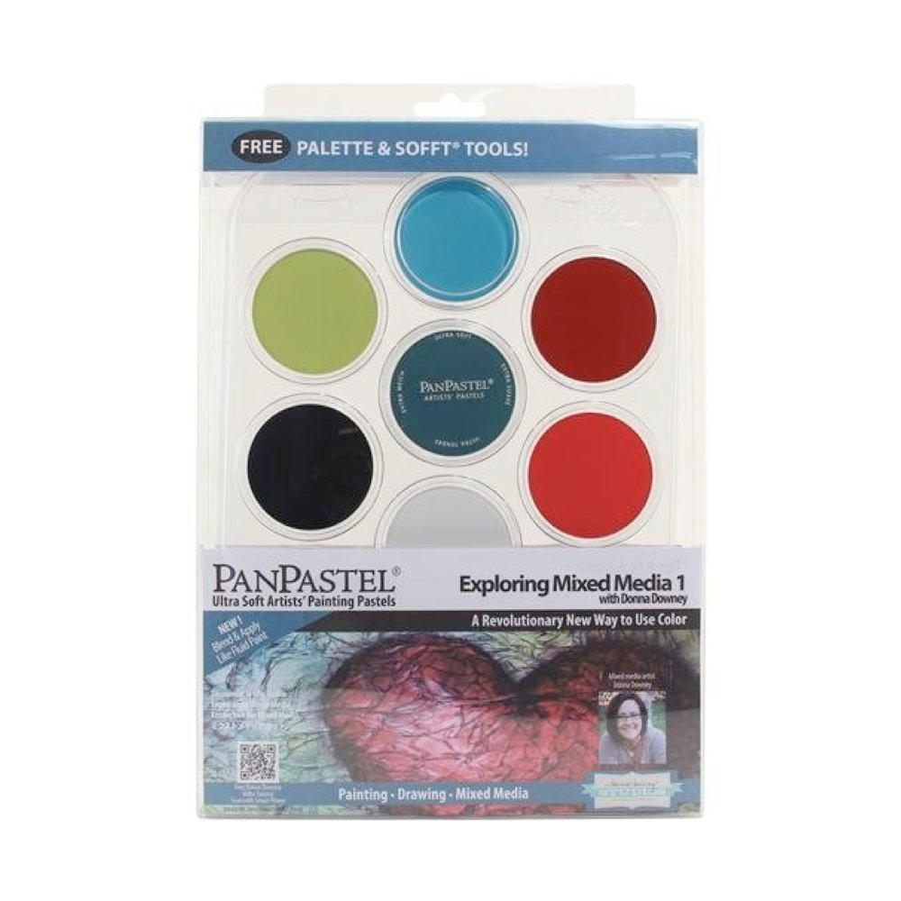 Painting Pastel Mix Media Set 1 by Alvin