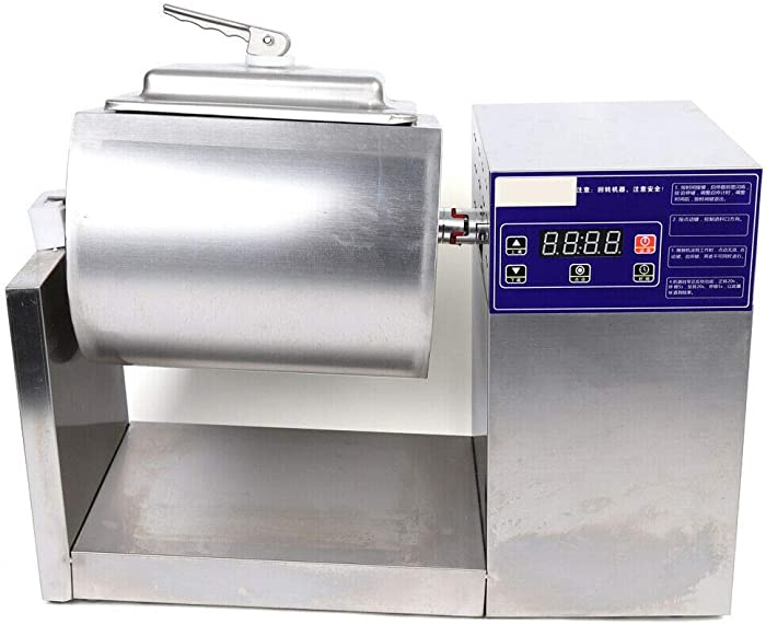 Electric Food Pickling Machine, 110V Us,18L Electricvacuum Food Marinator Tumbling Pickled Machine Stainless+Transformer Set Of Pickling Electric Vacuum Transformer Tumbler Processor