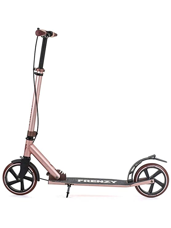 Amazon.com: Freno doble de oro rosa Freno + Commuter Scooter ...