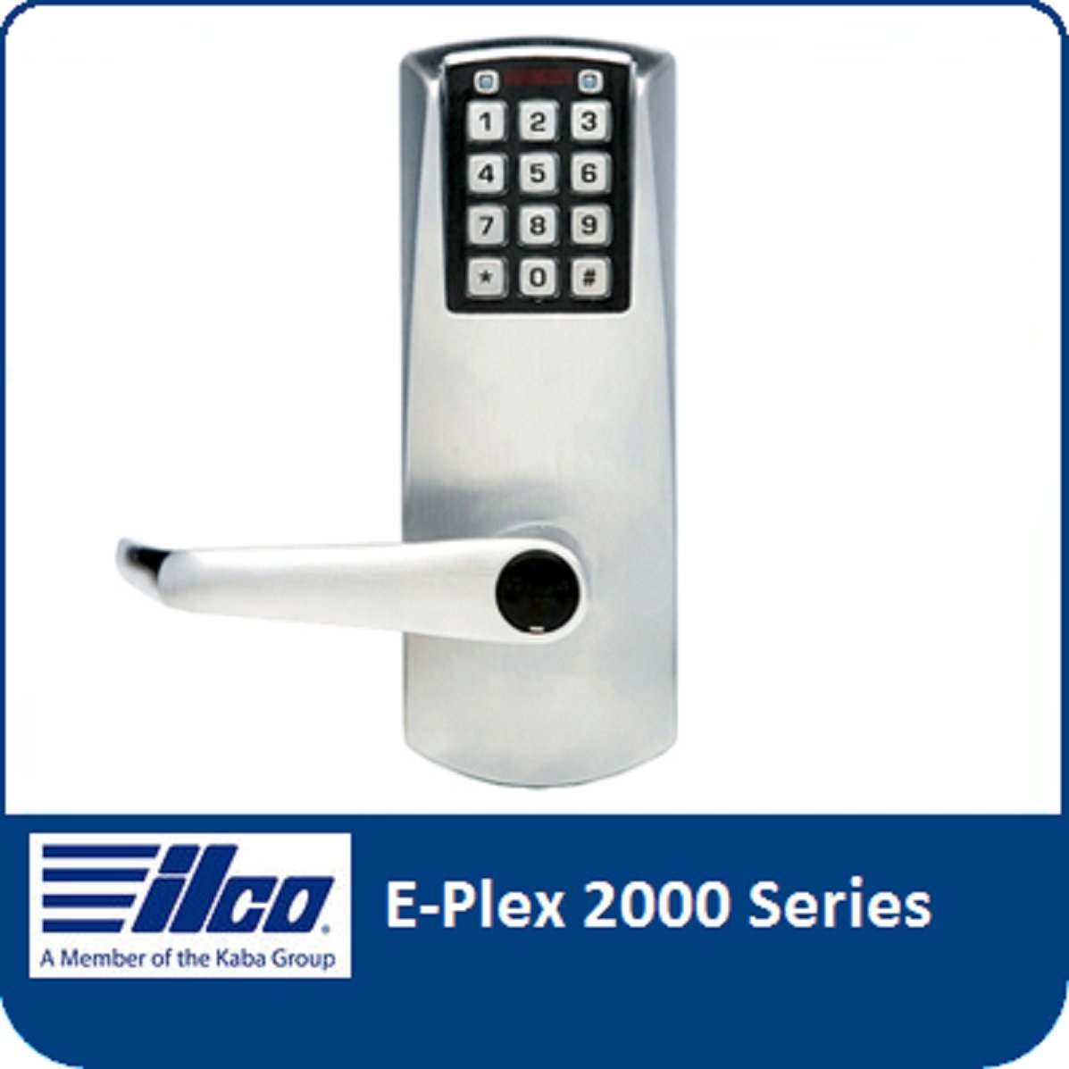 Simplex Battery Keypad Lever Lock