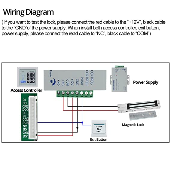 Magnetic Lock Wiring Diagram - Engine Mechanical Components on