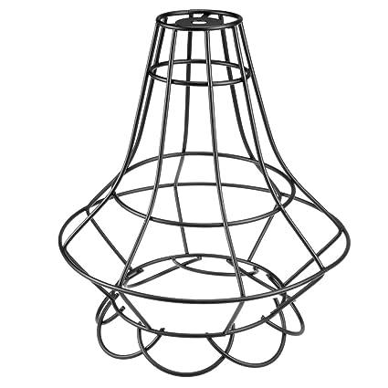 Amazon Com Uxcell Metal Bulb Guard Lamp Hanging Pendant Light