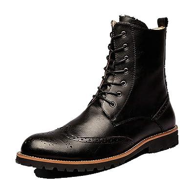Bottes Boots Homme des Bottes pour Hommes, Automne Hiver