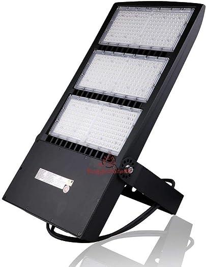 RuggedGrade 450 Watt NextGenII LED Flood Light 60,000 Lumen Super Efficiency 130 Lumen to Watt – 5000K Bright White – Replaces 750W-1000W- No Photocell