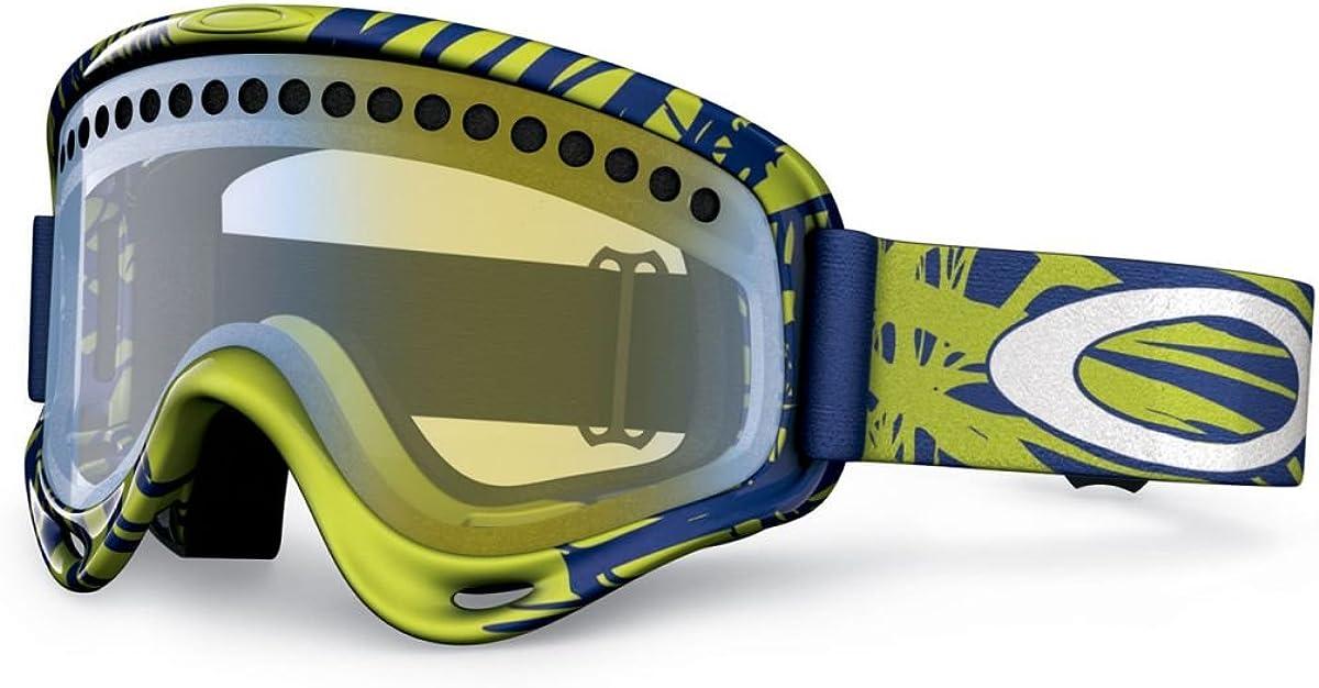 Oakley 57-765 O-Frame - Máscara de esquí para Hombre (Tinte de Lente Hi Yellow), Color Verde