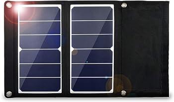 EREMOKI 14W Solar Portable Charger and USB Output