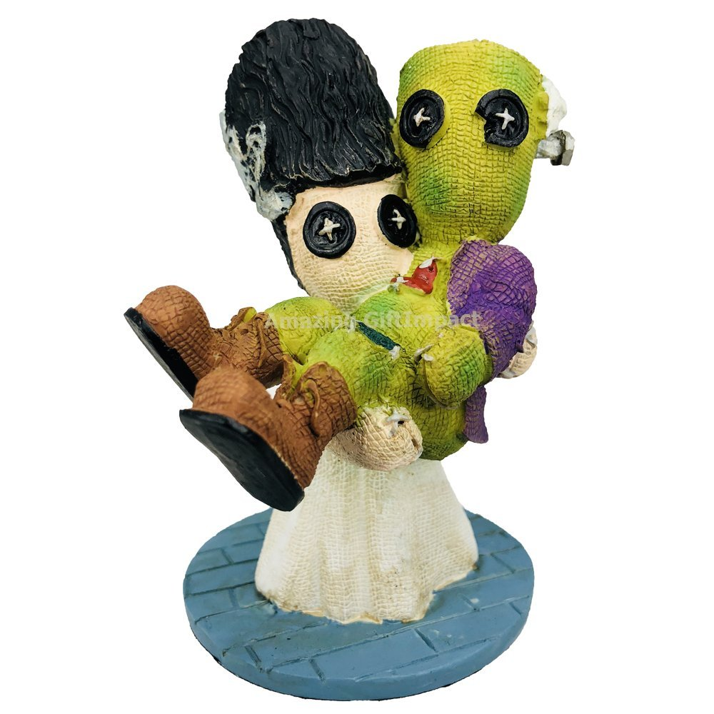 ABZ Brand Pinheads Collection Halloween Horror Series Collectible Figurine (Bride/Frank)