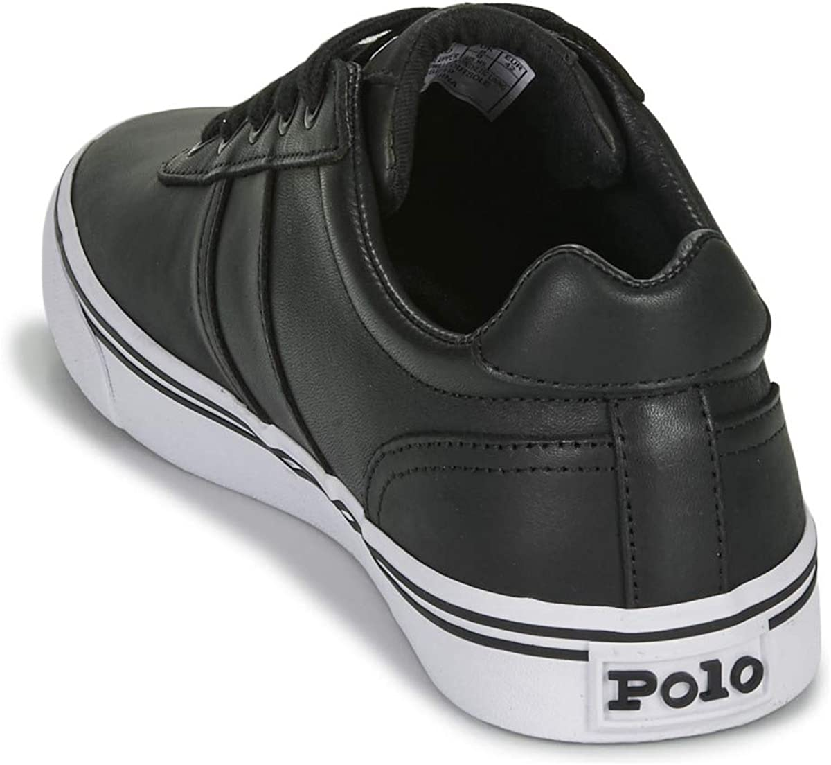 Polo Ralph Lauren, Hanford Leather Black, Zapatillas para Hombre ...