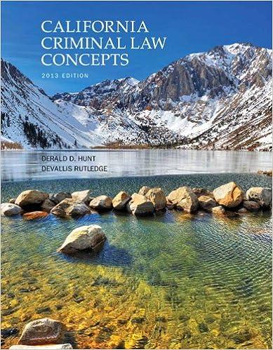 california criminal law concepts 2018 edition