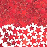 Amscan Star Confetti (Super Value Pack), 5 oz, Red