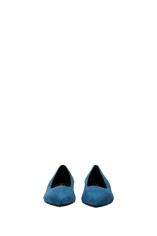 Tod's Ballerinas Damen Wildleder Blau Zuckerpapier und Gold XXW0WW0N050HR0U213 Blau Wildleder 36EU 76b276