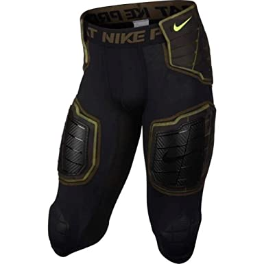 a1b6de5d0c Image Unavailable. Image not available for. Color: Nike Men's Hyperstrong  Compression Hard Plate Football Pants ...
